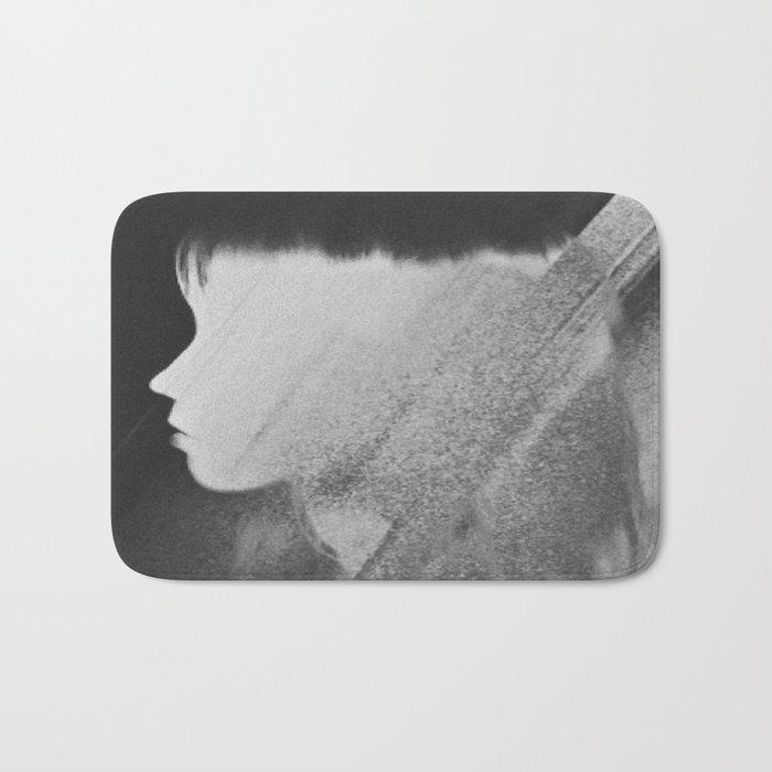 Faceless Charcoal Bath Mat