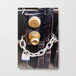 Locked 2011 Metal Print