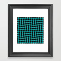 Simple Swirl Framed Art Print