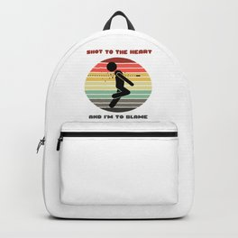 Sunset Serial Killer / Shot to the Heart and I'm to Blame Backpack