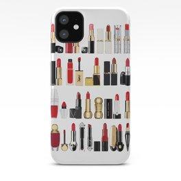 The Lipsticks Shelf iPhone Case