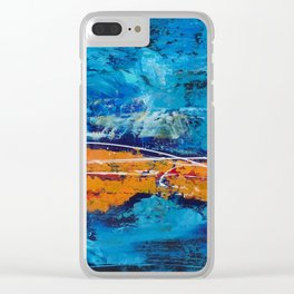 Marlin in the ocean Clear iPhone Case