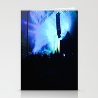 concert Stationery Cards featuring Concert Lights by Maggie Roberts