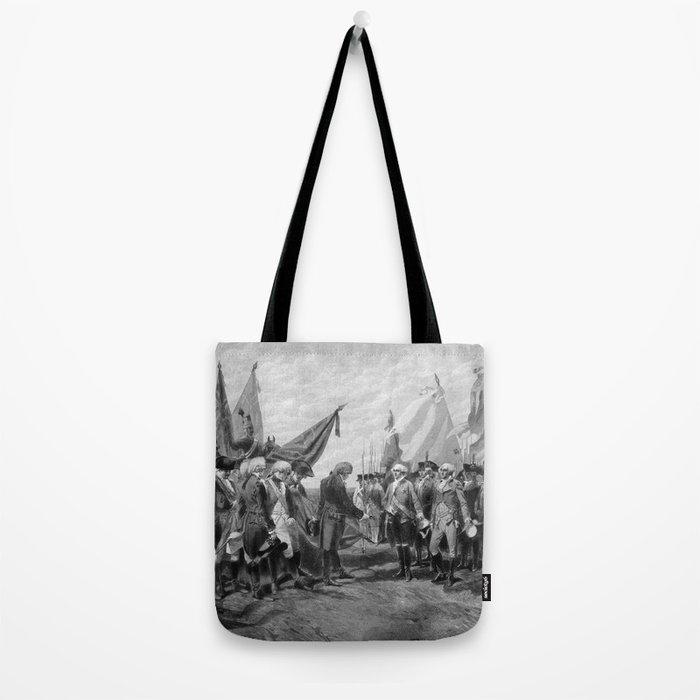 Surrender Of Cornwallis At Yorktown Tote Bag