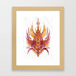 Pierzaste Framed Art Print
