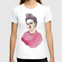 frida kahlo T-shirts featuring Frida Kahlo by Barruf