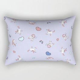 Sylveon Lilac Print Rectangular Pillow