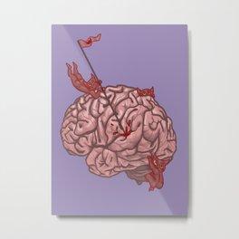 Pandemonium of the Brain Metal Print