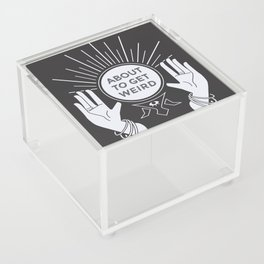 Weird Future Acrylic Box