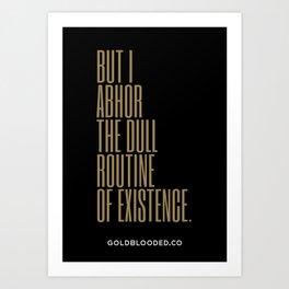 Abhor Art Print