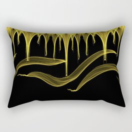 Paint Drip Rectangular Pillow