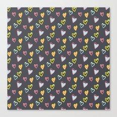 Rosewall love Canvas Print
