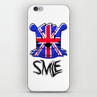 uk iPhone & iPod Skins featuring SMLE UK by SMLE™