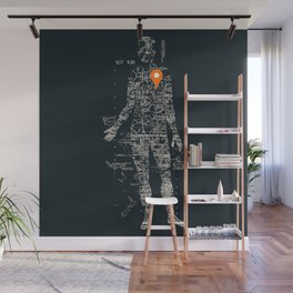 Travel With Me Wall Mural