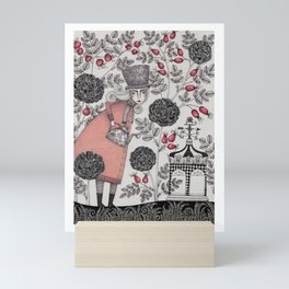 Winter Garden Mini Art Print