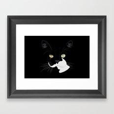 Louis The Cat Framed Art Print