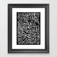 Moonbeasts Framed Art Print
