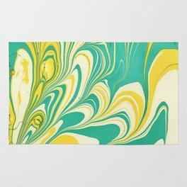 Painting in water Rug
