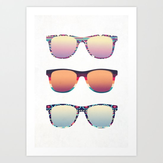 PUT YOUR GLASSES ON ...  Art Print