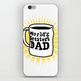 World Greatest Dad iPhone Skin