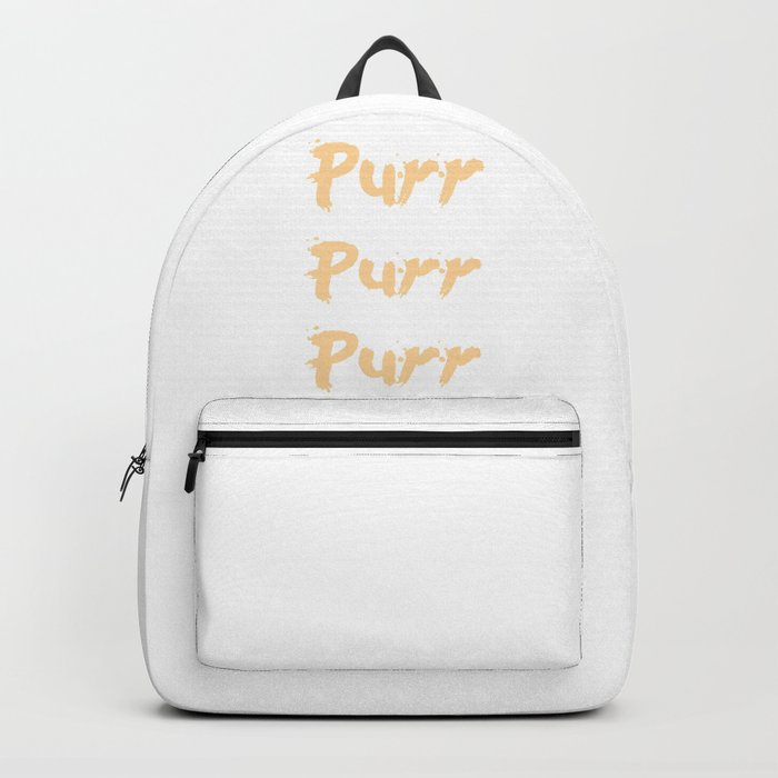 Purr Purr Purr Backpack