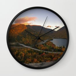 Artist's Bluff Pano Wall Clock