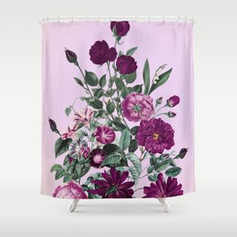 Romantic Garden III Shower Curtain