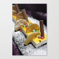 dessert Canvas Prints featuring Dessert by Ornaart