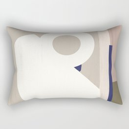 Branded Abstract 8 Rectangular Pillow
