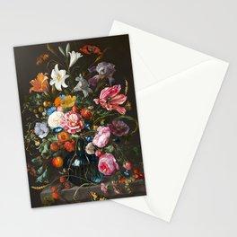 Vase of Flowers - de Heem Stationery Cards
