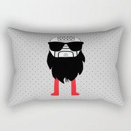 hipster epilator Rectangular Pillow