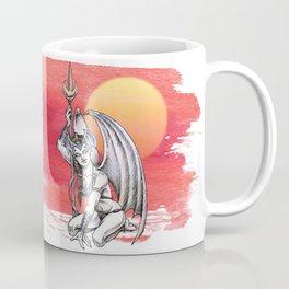Winged Warrior Fairy Coffee Mug