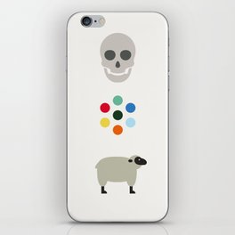 Iconic Painters: Damien Hirst iPhone Skin