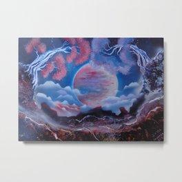 Full Moon - Maybe A Dream Metal Print