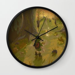 Childhood favorite - Ocarina of Time Wall Clock