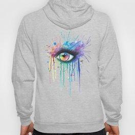 Rainbow Eye Colorsplash Hoody