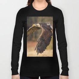 Bald Eagle in Flight Long Sleeve T-shirt