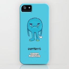 Grumpyfarrrts iPhone Case