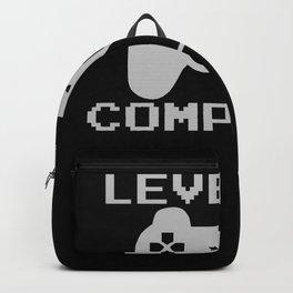 Gamer Level 10 Gift Birthday Backpack