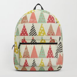 Whimsical Christmas Trees Backpack