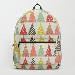 Whimsical Christmas Trees Backpack