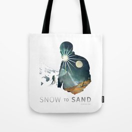 """Snow To Sand"" Official One-Sheet Poster Tote Bag"