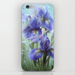 Imagine - Fantasy iris fairies iPhone Skin