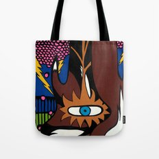 and the MAGIC BERRIES PLAYED RIGHT into FOX'S HANDS Tote Bag