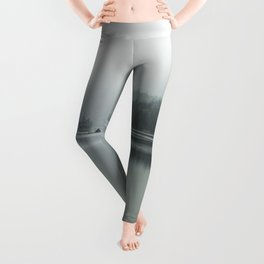 Fog - Landscape Photography Leggings
