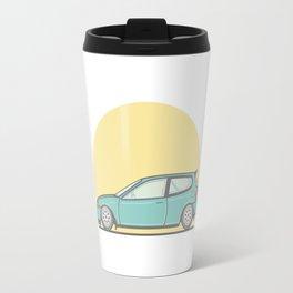Honda Civic EG vector illustration Travel Mug