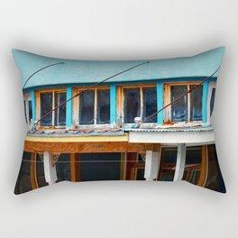 Old Building  Rectangular Pillow