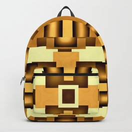 Gold Beige Pipe System,Streampunk Backpack