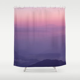 Tiger Hill Shower Curtain
