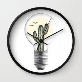 Desert Heat Wall Clock